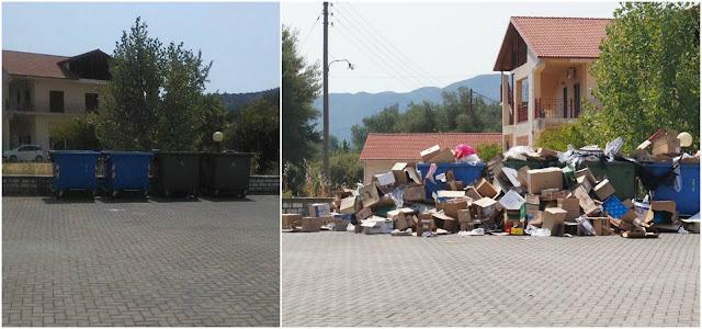 Ηγουμενίτσα: Καθαρίστηκαν τα σκουπίδα και τα χαρτόκουτα και στην Μαζαρακιά