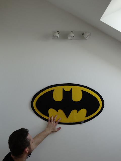 Dekoracja ścienna Batman