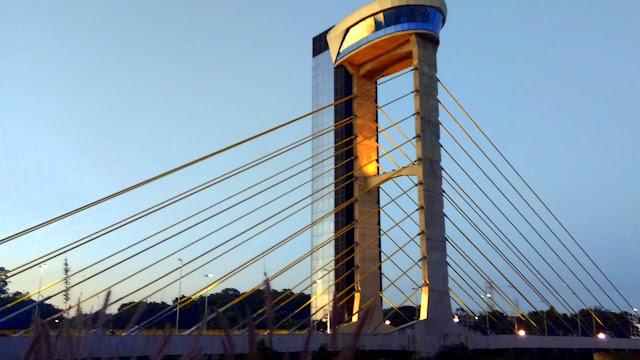visao geral ponte estaiada