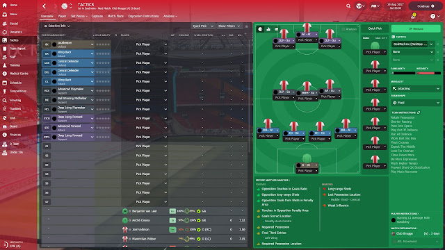 4-3-3 Goal Machine Tactic FM 2018