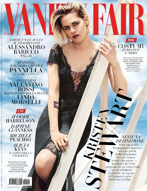 Actress, @ Kristen Stewart - Vanity Fair Italia, June 2016