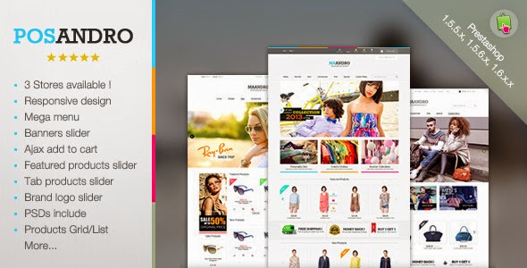 new prestashop theme
