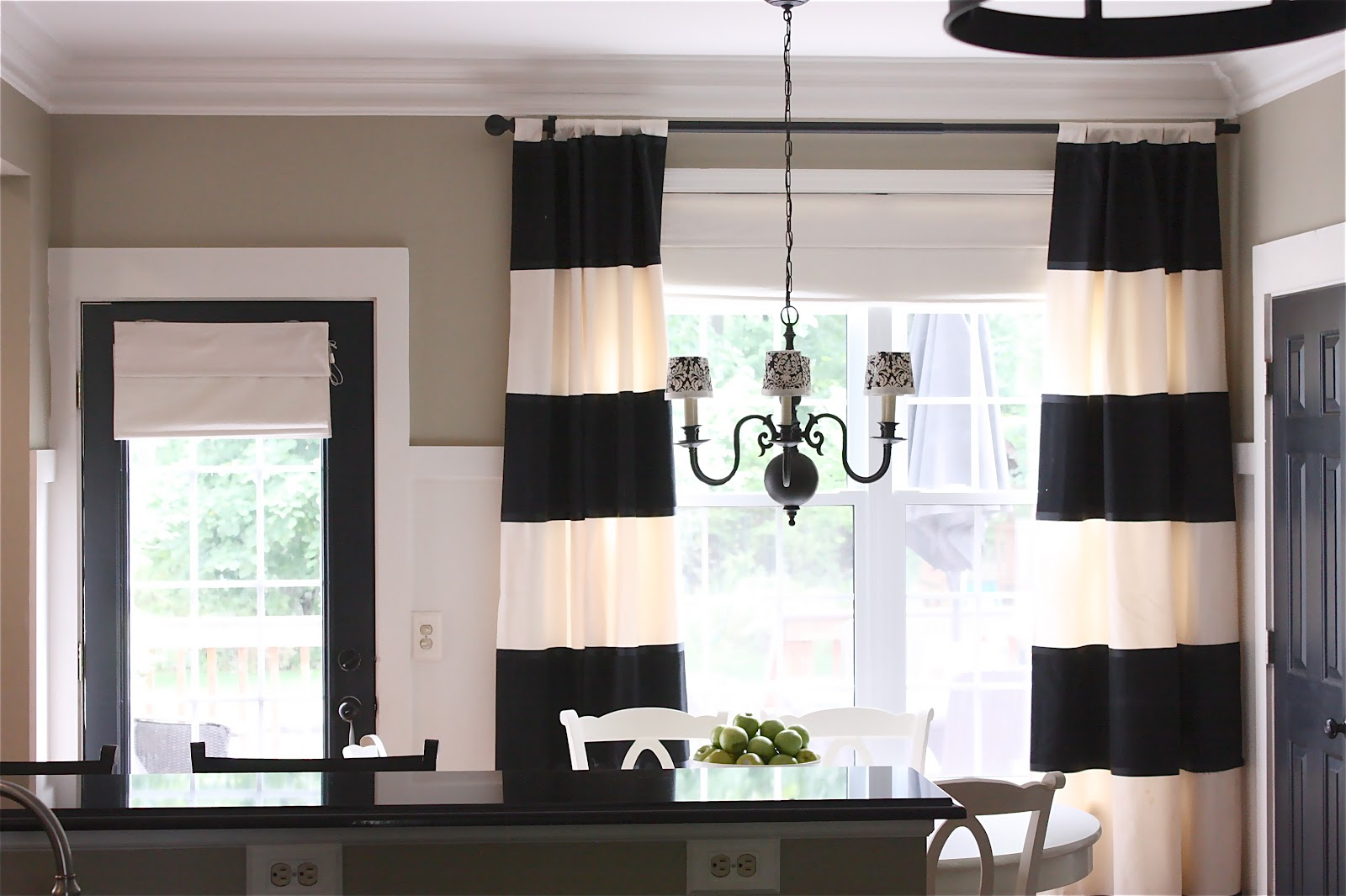 Kitchen Curtains For Yellow Walls The Yellow Cape Cod My Kitchen Makeover Details And