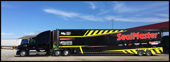 Dale Coyne Racing Western Star 5700Z IndyCar Transporters