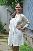 Radhika Cute Young New Actress in White Long Transparent Kurta ~  Exclusive Celebrities Galleries 065.JPG