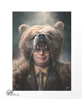 Dwight Schrute Painting