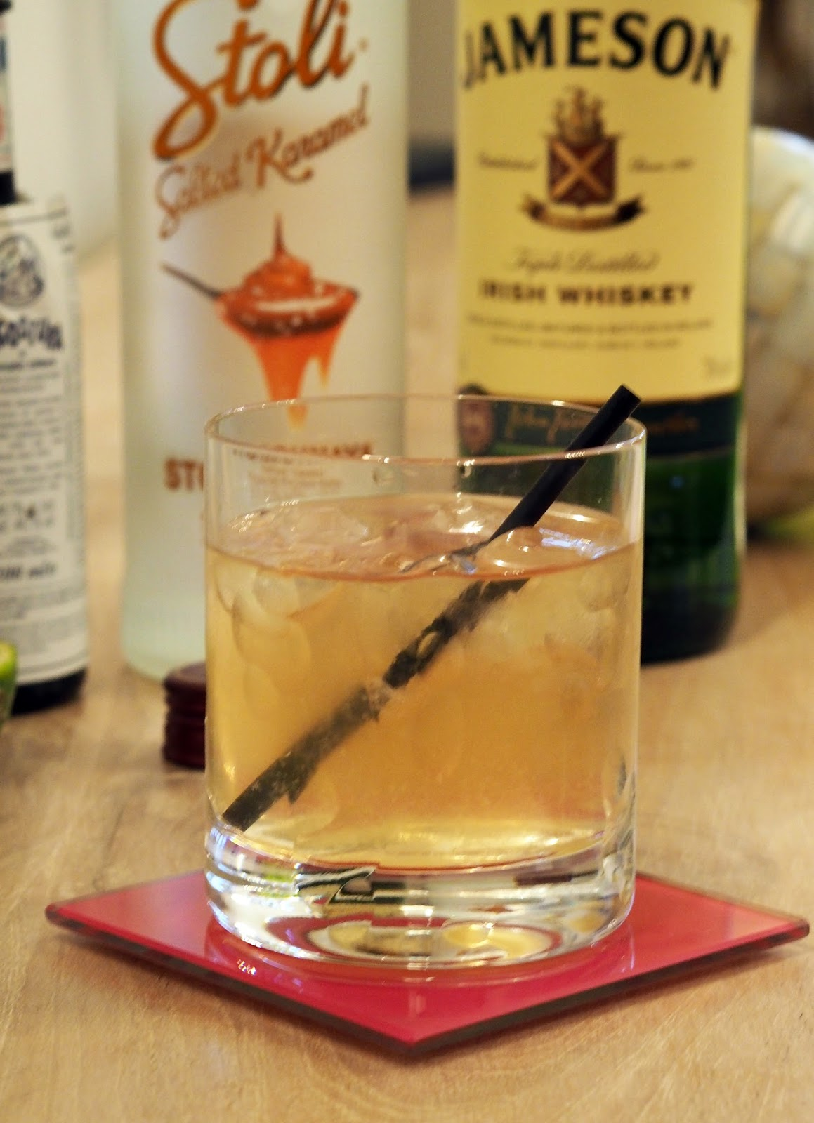 Elle bloggs by lauren barry jameson salted caramel mule for Jameson mixed drinks recipes