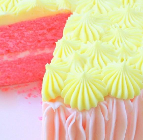 PINK LEMONADE CAKE FROM SCRATCH #dessert #lemon