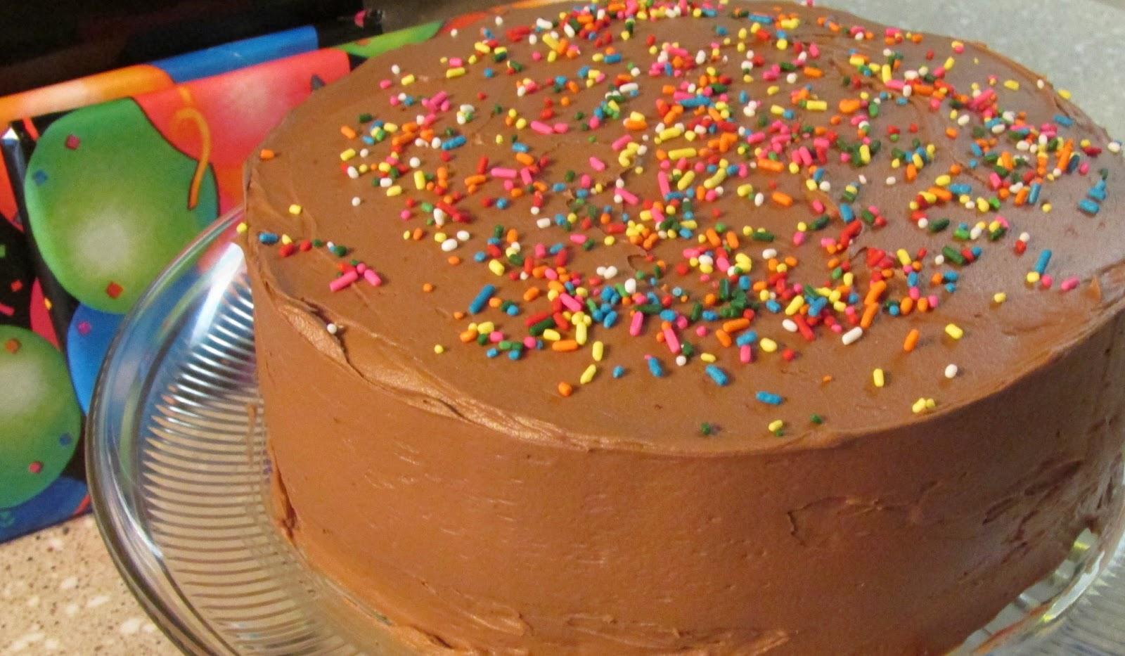 Baker Becky Chocolate Cake