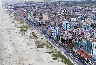 Vista aérea de Capão da Canoa - RS