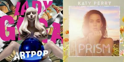 Crítica ARTPOP Lady Gaga y PRISM de Katy Perry