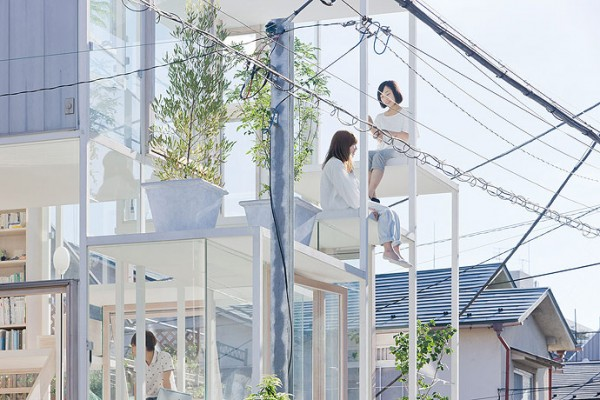 Amazing Transparent House in Tokyo