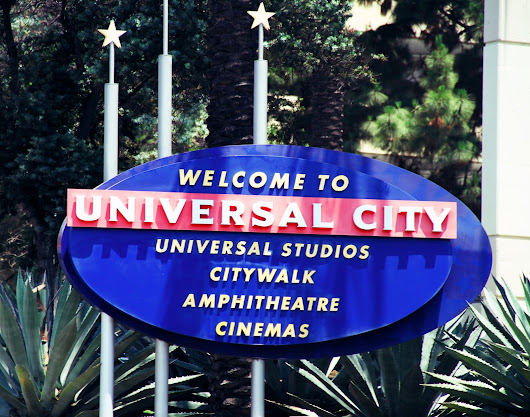 4 day in LA, UNIVERSAL STUDIOS HOLLYWOOD.