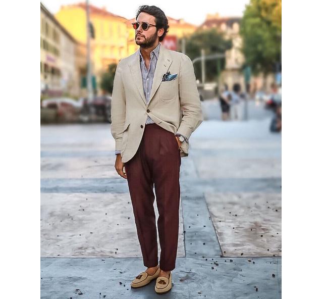 Moda para hombre en Instagram (CLI)