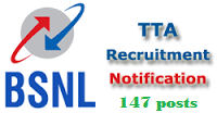 BSNL TTA Recruitment