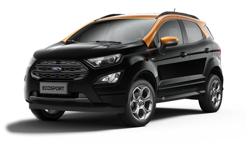Ford EcoSport Restylé (2018) - Couleurs / Colors