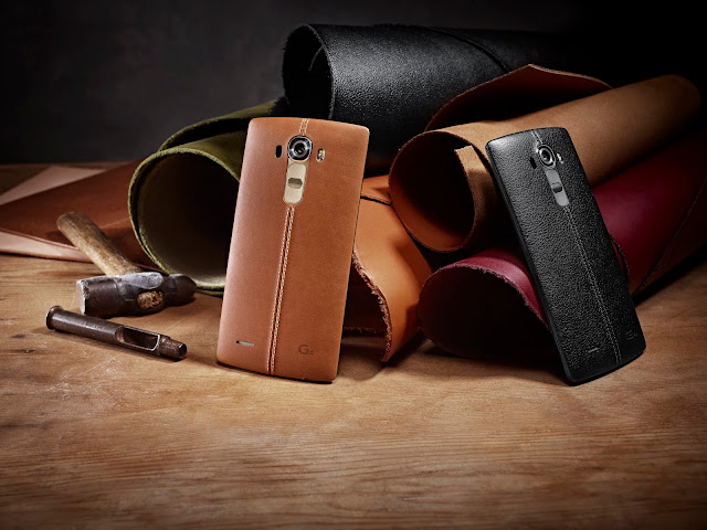 LG G4 in Brown and Black Leather