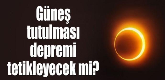 Tarihin En Büyük Güneş Tutulması Bugün Cephe Gazetesi