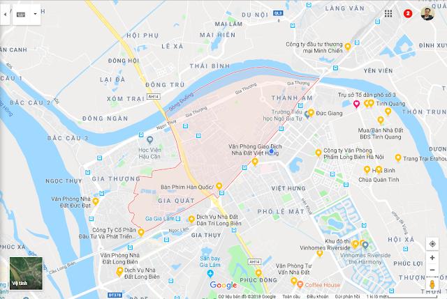 Bán Đất Phường Thượng Thanh