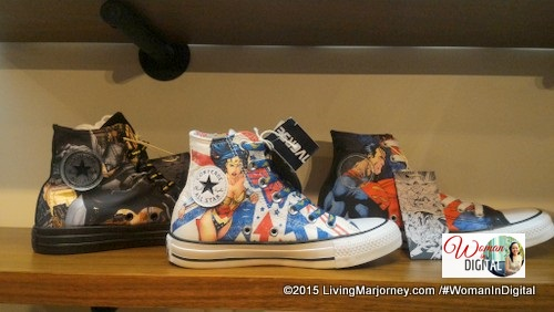 DC Superheroes in Converse