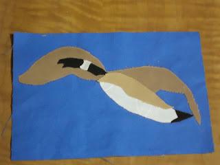 Canada goose block