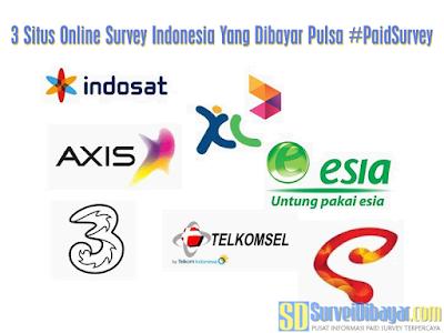 Pulsa Gratis Dari Situs Online Survey | SurveiDibayar.com