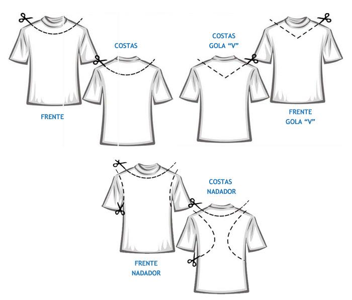 9e8f9fcb18 13 customizações de camisetas ~ Arte De Fazer