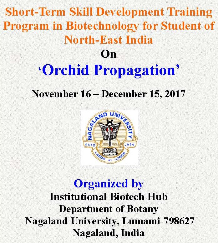 Training Program In Biotechnology For Student Of North