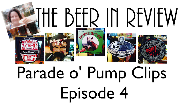 Parade of Pump Clips Cask Ale Reviews on YouTube