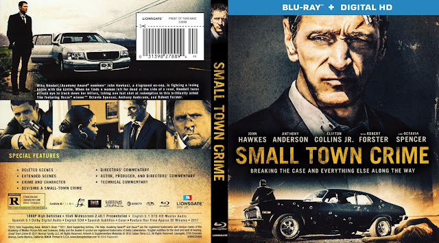 Small Town Crime Bluray Cover