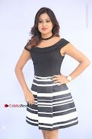 Actress Mi Rathod Pos Black Short Dress at Howrah Bridge Movie Press Meet  0052.JPG
