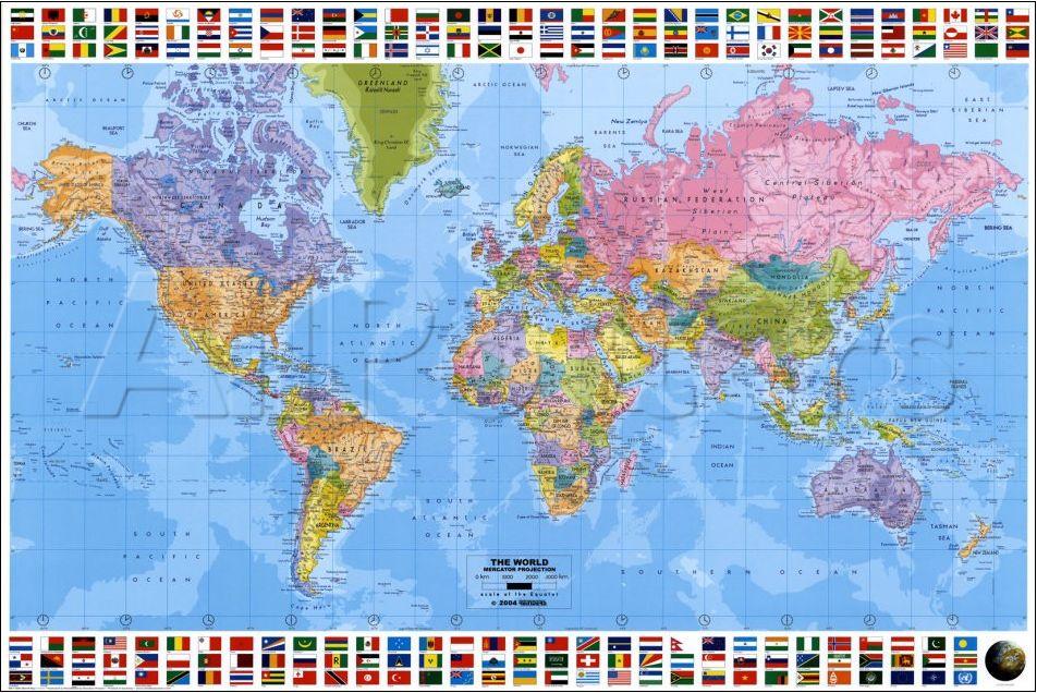 Cartina Mondo 1900 \u2013 Tomveelers