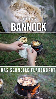 BMA Outdoor Kitchen | Trekkingnahrung | Bannock – schnelles Fladenbrot | Das beste Outdoor-Food für Trekkingtouren und zum Wandern