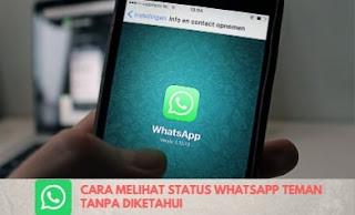 Trik Whatsapp : Cara Agar Tidak Ketahuan Melihat Status WA Orang Lain