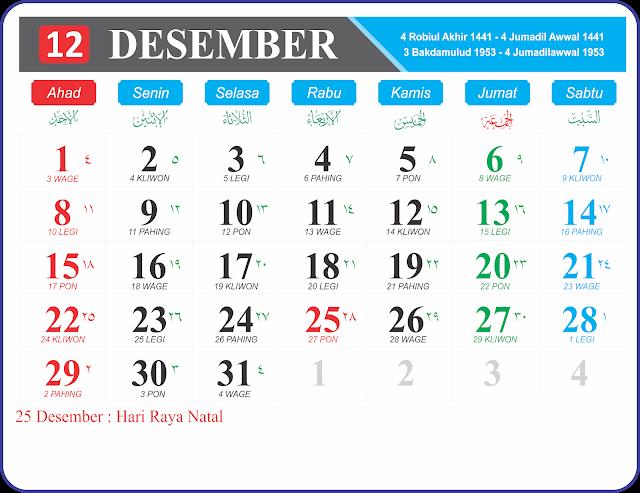 Desember 2019