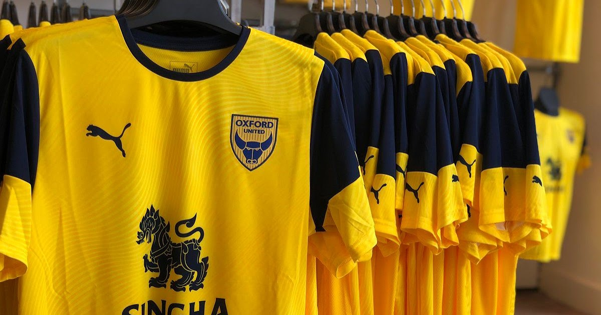 Oxford United 19 20 Kit Released Footy Headlines