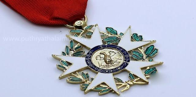 செவாலியர் விருது பெற்ற 6 தமிழர்கள். இதில் இருவர் ஈழத்தமிழர்கள்...