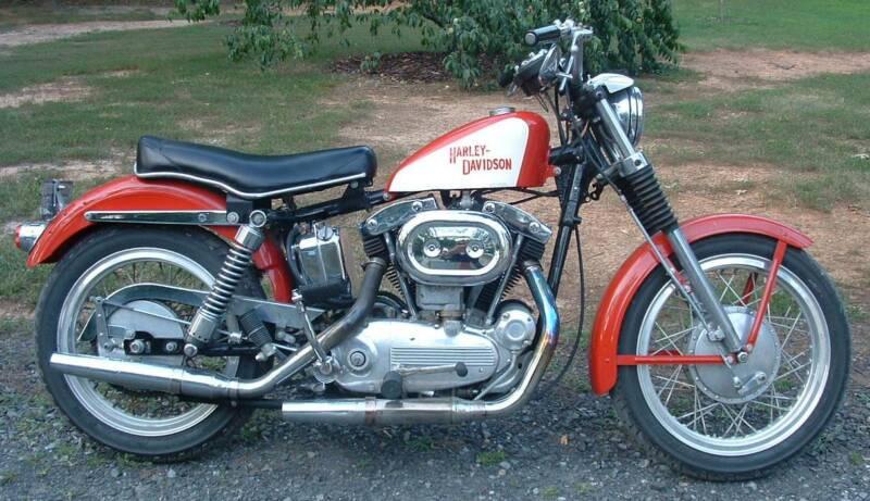 Harley Davidson Sportster 1968-1969 Electrical Wiring