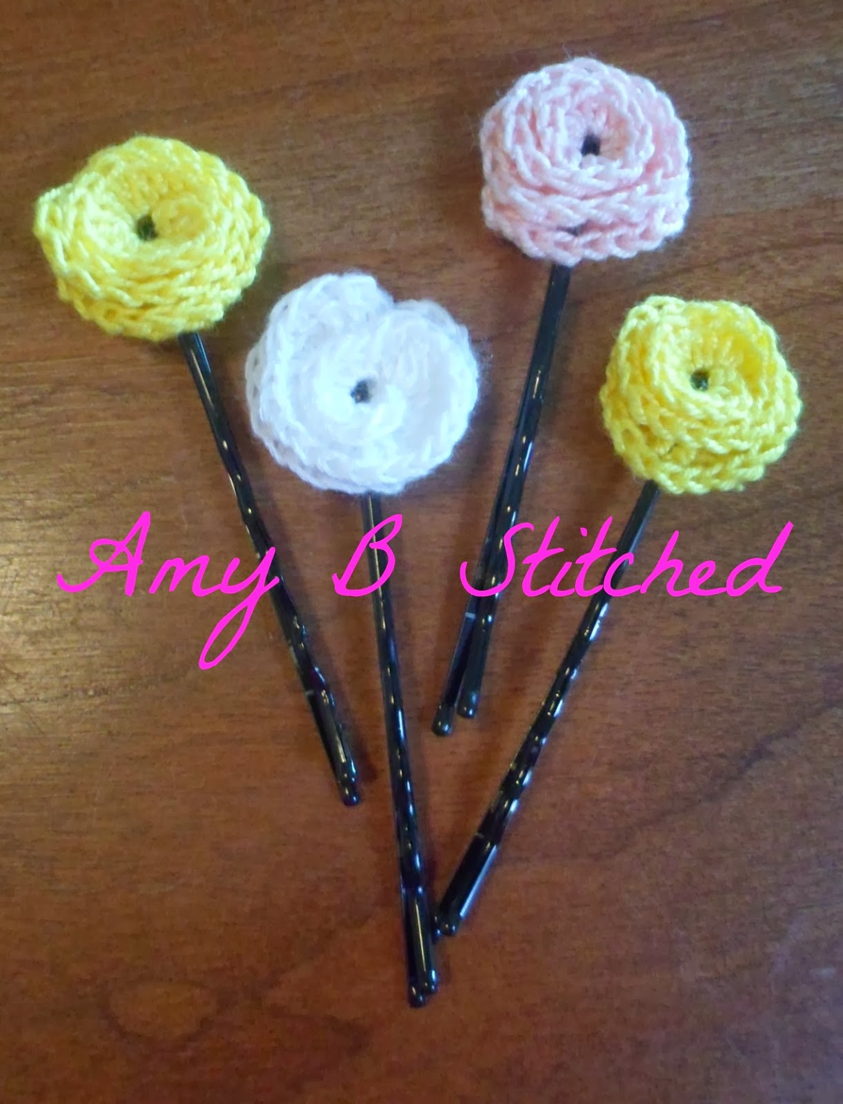A Stitch At A Time For Amy B Stitched A Flower For Your Hair Bobby