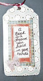Bookmark: A Book is a Dream, Close-up