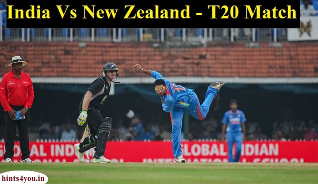 Indian team will arrive at Auckland's Eden Park field with the intention to equalize in the series against New Zealand.India vs New Zealand Live Streaming, 2nd T20 International Match.