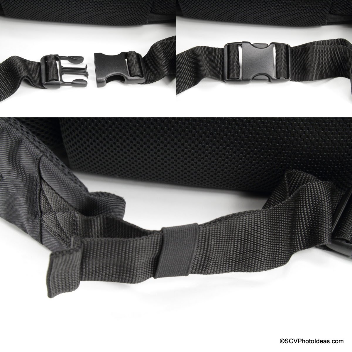 Case Logic DSB-103 waist belt buckle and strap details