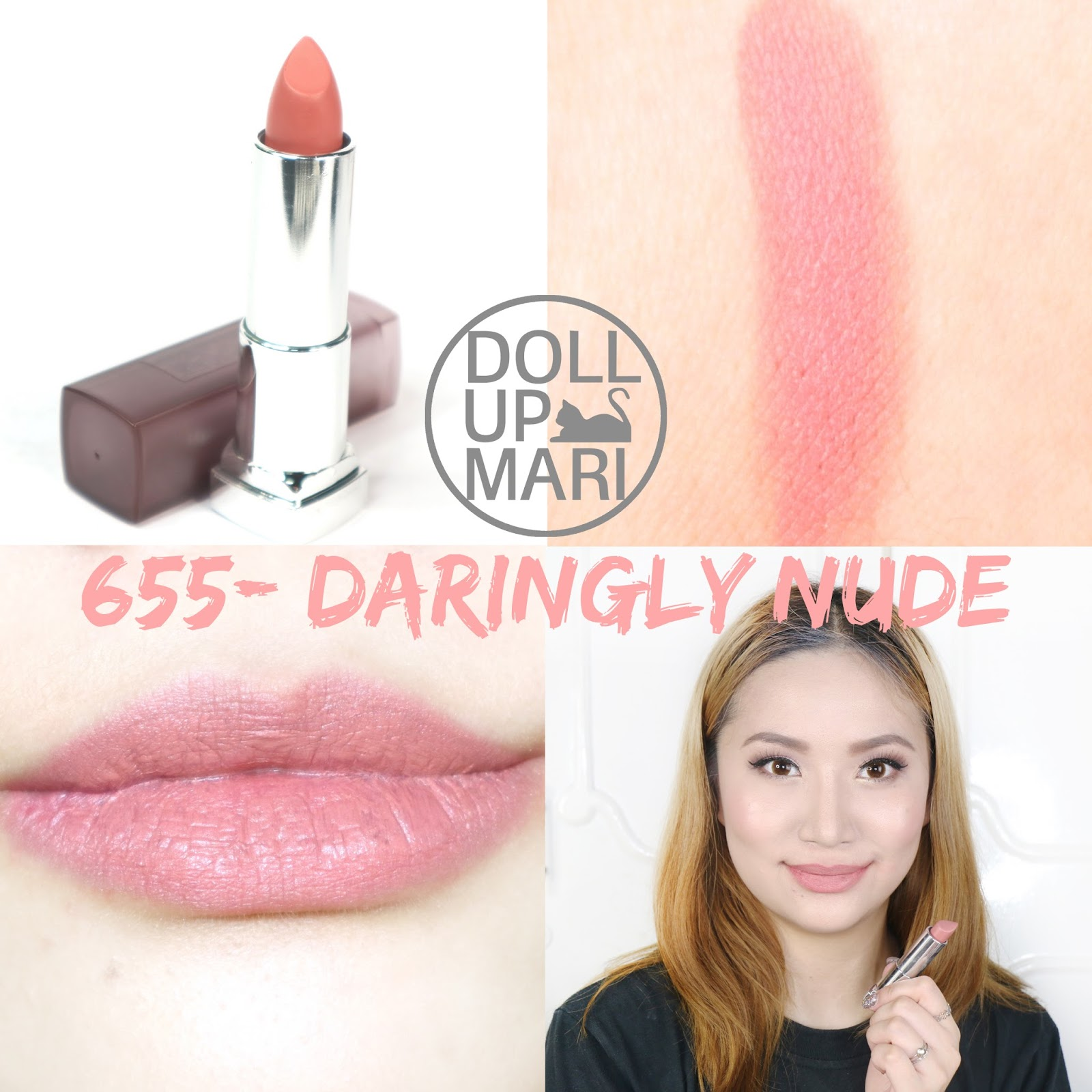 Hot Maybelline Nude Swatches Gif
