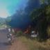 Caminhão pega fogo após tombar na BA-001; duas pessoas morreram carbonizadas, veja vídeo: