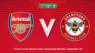 مشاهدة مباراة ارسنال وبرينتفورد بث مباشر بتاريخ 26-09-2018 كأس رابطة المحترفين الإنجليزية