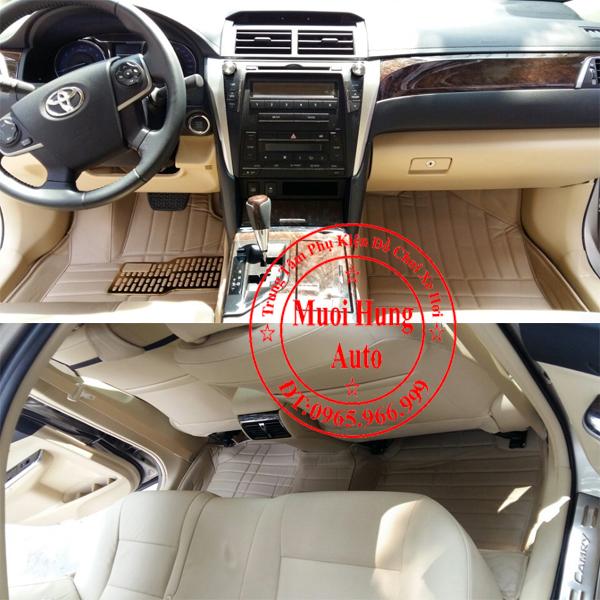 Thảm Lót Sàn Ô Tô 4D Toyota Camry 01
