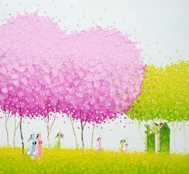 Phan Thu Trang e suas belas pinturas | Vietnamita