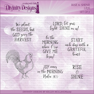 Divinity Designs LLC Rise and Shine