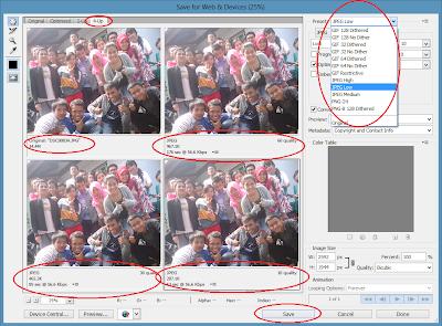 Memperkecil Ukuran Byte Gambar Dengan Photoshop
