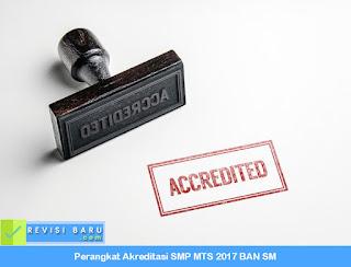 Perangkat Akreditasi SMP MTS